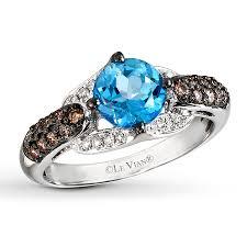 gold topaz rings images Le vian blue topaz ring 3 8 ct tw diamonds 14k vanilla gold jpg