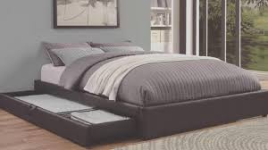 Queen Mattress Frame Queen Bed Frame With Storage Plans Youtube