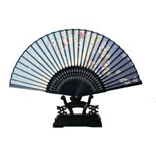 held fan held fan bamboo silk butterfly flower folding fan