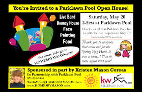 parklawn pool open house homes by mason