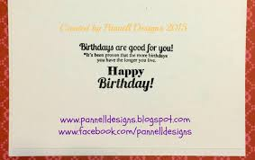 pannell designs paper crafting sour patch kids birthday card