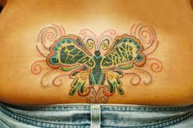 images baby footprint butterfly tattoos