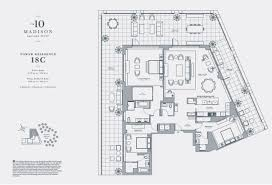 Madison Residences Floor Plan by Ten Madison Square West Nyc Apartments For Sale And Rent Citty
