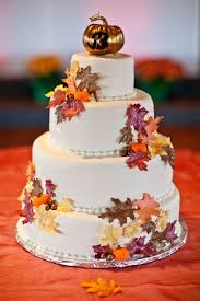 fall wedding cake toppers 40 gorgeous fall leaves wedding ideas deer pearl flowers