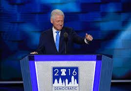 bill clinton u0027s highly personal testimonial for hillary clinton