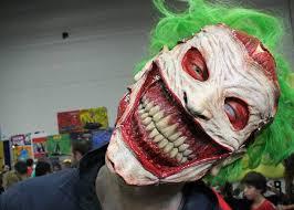 Creepiest Halloween Costumes Joker Creepiest Joker Mask