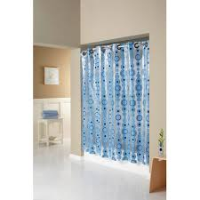 Walmart Com Shower Curtains Arcs U0026amp Angles 194142 Hookless Shower Curtin With Plain Weave
