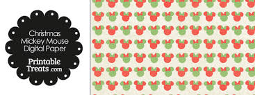 minnie mouse christmas wrapping paper vintage minnie mouse christmas digital scrapbook paper printable