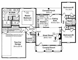 Southern Style House Plans by Southern Style House Plan 3 Beds 2 00 Baths 1500 Sq Ft Plan 21 146