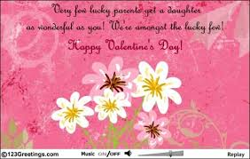 valentines day family free ecards greeting cards happy valentine s day daughterhappy valentine39s day daughter free