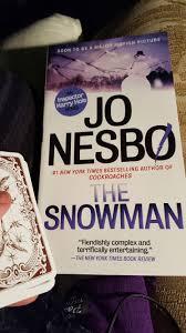 literary lenormand jo nesbo u0027s snowman updated spoilers