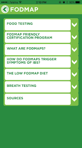 using technology to help your low fodmap journey fodmap