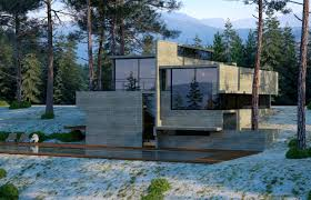neocribs modern concrete glass home design u2013 cas