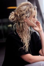 hairstyles for curly and messy hair 17 natural hairstyles all curly gals will love half bun tossed