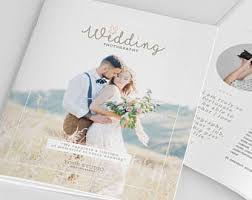 Wedding Magazine Template Magazine Template For Wedding Photographers Photography