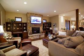 Family Room Cool Bookcases Ideas Living Room Cool Living Room With Stone Fireplace Tv Curtains