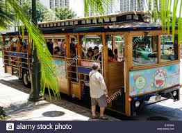 Waikiki Trolley Map Waikiki Trolley Stock Photos U0026 Waikiki Trolley Stock Images Alamy