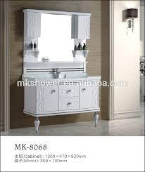 Floor Standing Mirrored Bathroom Cabinet Floor Standing Wash Basin Cabinet Floor Standing Wash Basin
