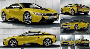 Bmw I8 Specs - bmw i8 protonic frozen yellow 2018 pictures information u0026 specs