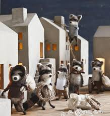 roost raccoon bandit ornaments shop nectar
