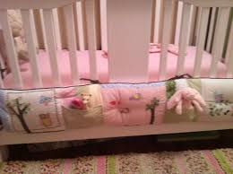 Mini Crib Bumper Pads by This Is How I Repurposed My Daughter U0027s Bumper Pad Hang It On The