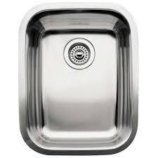 Sinks Kitchen Blanco by Blanco 440237 Supreme Stainless Steel Undermount Single Bowl