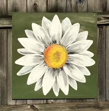 best 25 daisy painting ideas on pinterest daisy art paintings