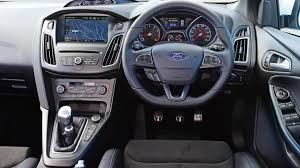 ford focus carbuyer ford focus rs hatchback interior dashboard satnav carbuyer