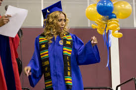 sorority graduation stoles csub honors black graduates