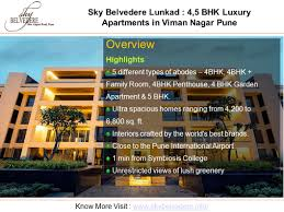 sky belvedere lunkad luxury apartments for sale in viman nagar