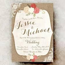 Rustic Wedding Invitation Chic Wedding Invitations 15 Beautiful Shabby Chic Wedding