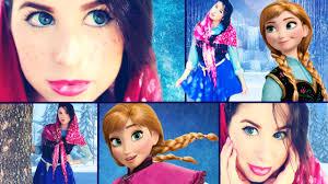 Anna Costume Disney U0027s Frozen Diy Anna Costume Makeup U0026 Hair Youtube