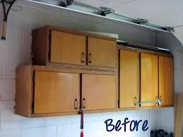 Garage Cabinet Doors Recycled Cabinet Doors Going Green In The Garage Diy Playbook