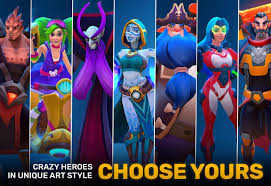 planet of heroes u2013 moba evolved to mobile action android apps on