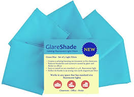 fluorescent light filters for classrooms glareshade fluorescent light filter covers 5 pack elim mom s