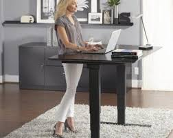 sit stand desk etsy