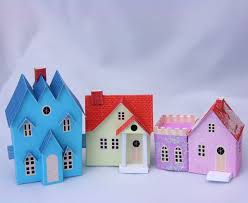 121 best miniature houses images on putz houses paper