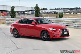 2016 lexus wagon 2016 lexus is 200t f sport review video performancedrive