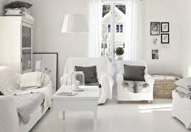 decordots light and white scandinavian living room