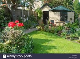 garden patio area stock photos u0026 garden patio area stock images