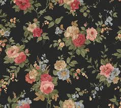 black floral wallpapers wallpaperpulse