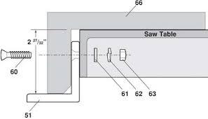 diy biesemeyer table saw fence table saw fence system step 6 cam lock delta table saw fence u0026