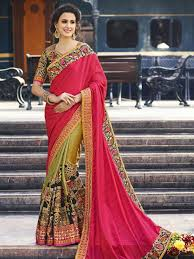 engagement sarees for online store for indian engagement wear saree with embroidered
