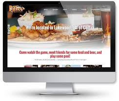 retail restaurant u0026 bar websites denver website designs