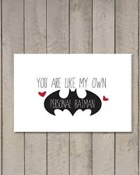 batman valentines card printable valentines day cards for boyfriendprintable