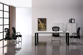 Black Office Desk Furniture Furniture Simple White Office Computer Desk Furniture With Black