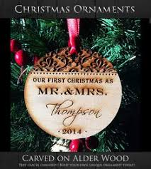 our first christmas ornament personalized by afwifecreations