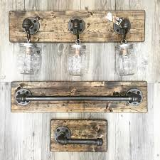 rustic industrial modern handmade all in one bathroom by lulight