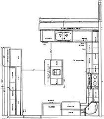 Kitchen Floor Plan Islands Tend To Work Best In Simple Kitchen Floor Plans Home