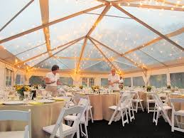 clear wedding tent clear top tent in light blue peak tents inc